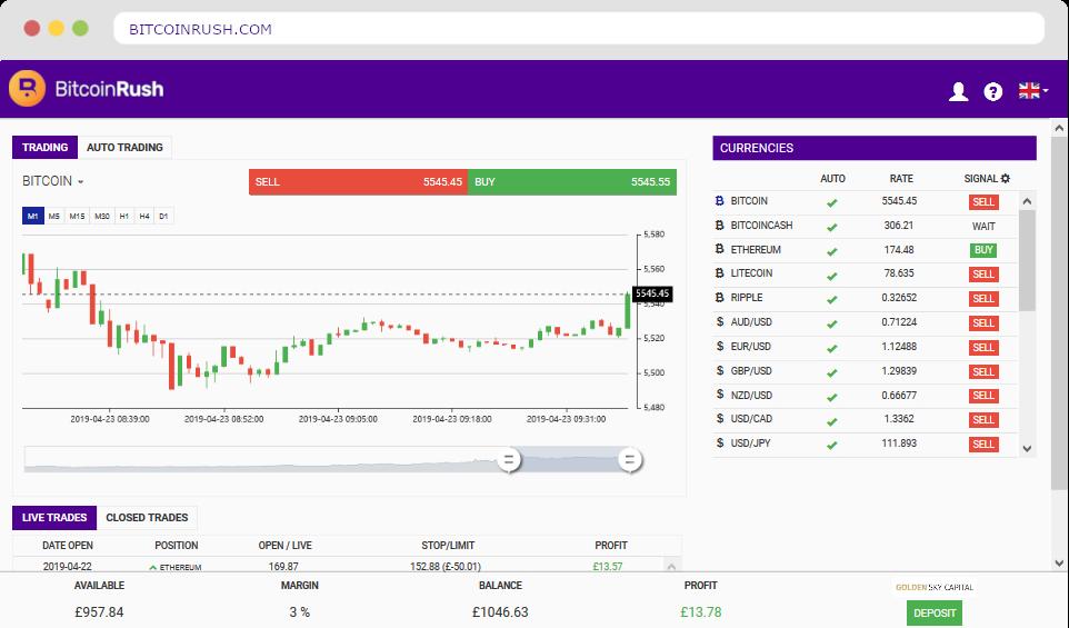 Bitcoin Rush ™ | El Bitcoin Rush App Oficial